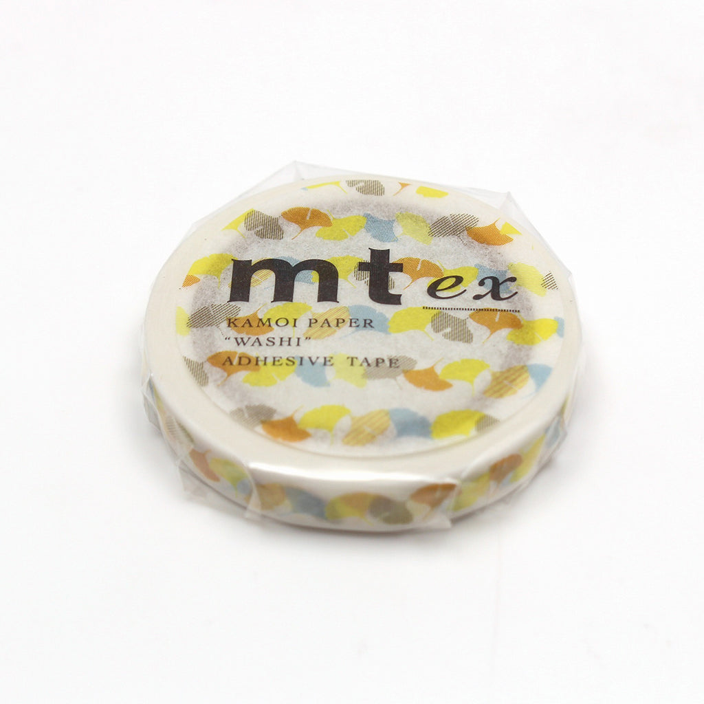 mt EX Washi Tape Gingko Line
