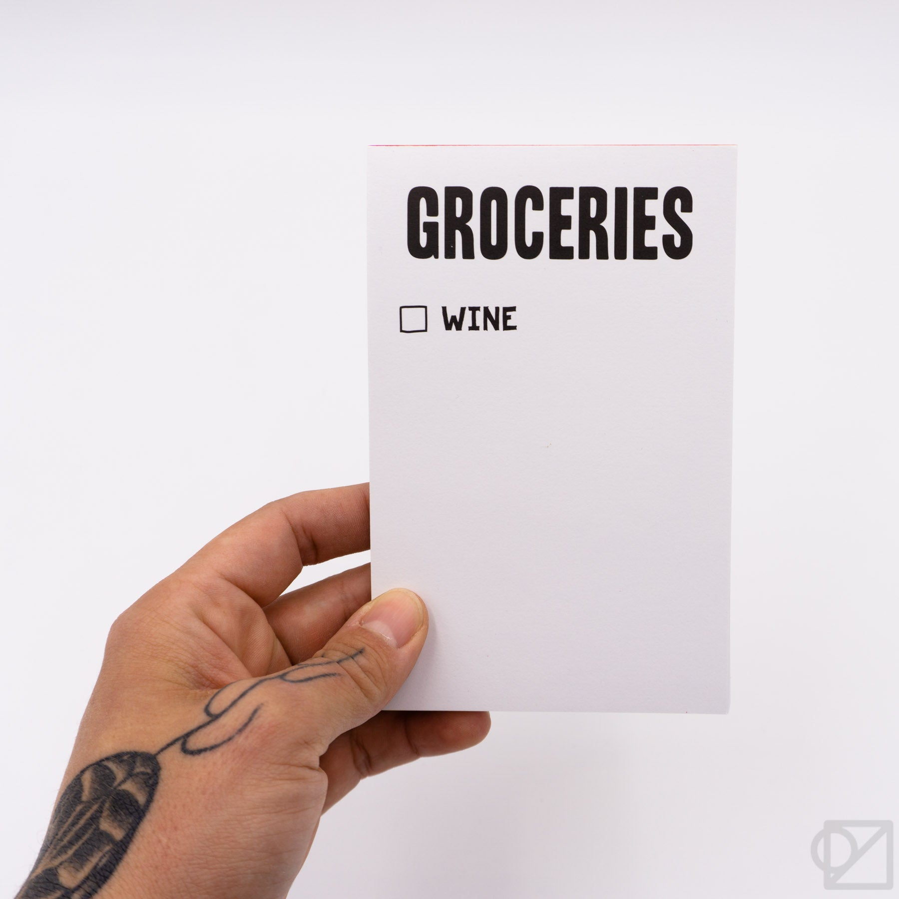 Grocery List Scratch Pads