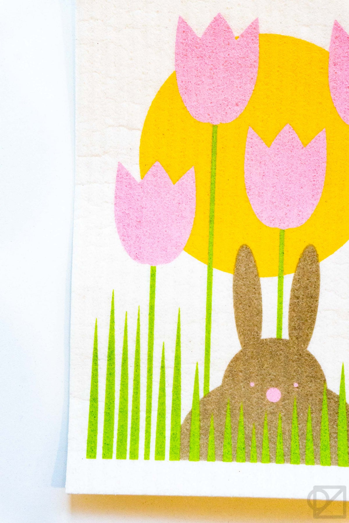 Swedish Dishcloth Bunny Garden