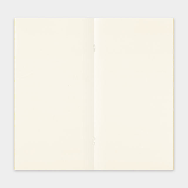 TRAVELER'S Company 025 Blank MD Paper Cream Notebook Refill