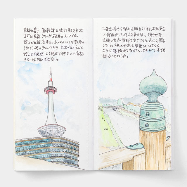 TRAVELER'S Company 027 Watercolor Paper Notebook