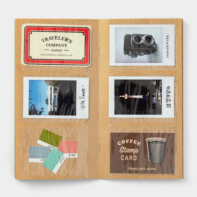 TRAVELER'S Company 028 Card File Folder