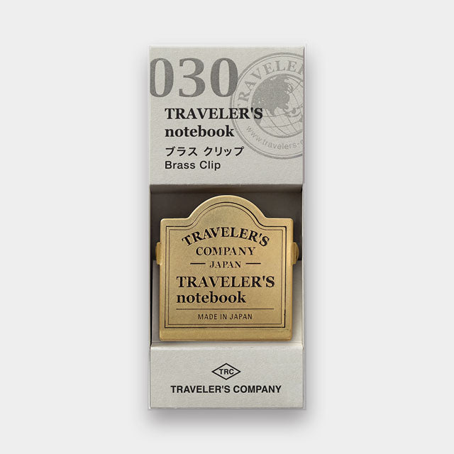 TRAVELER'S Company 030 Brass Clips