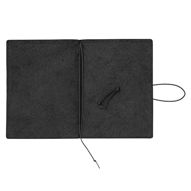TRAVELER'S Company Passport Leather Journal Starter Kit Black