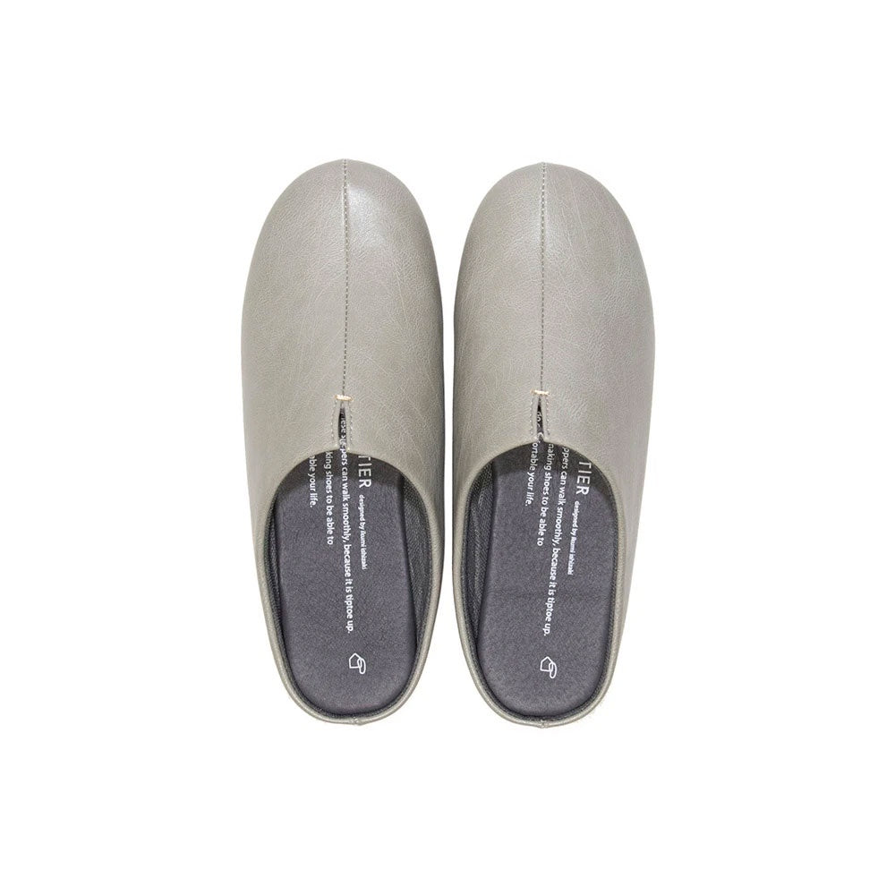 room's House Shoes Gray