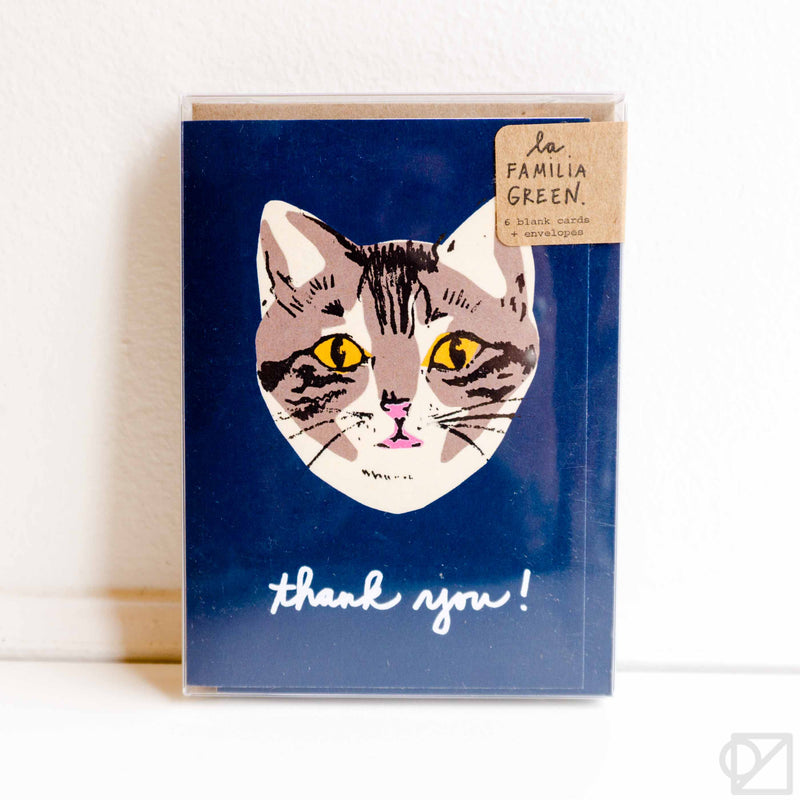 Cat Thank You Card Box Set