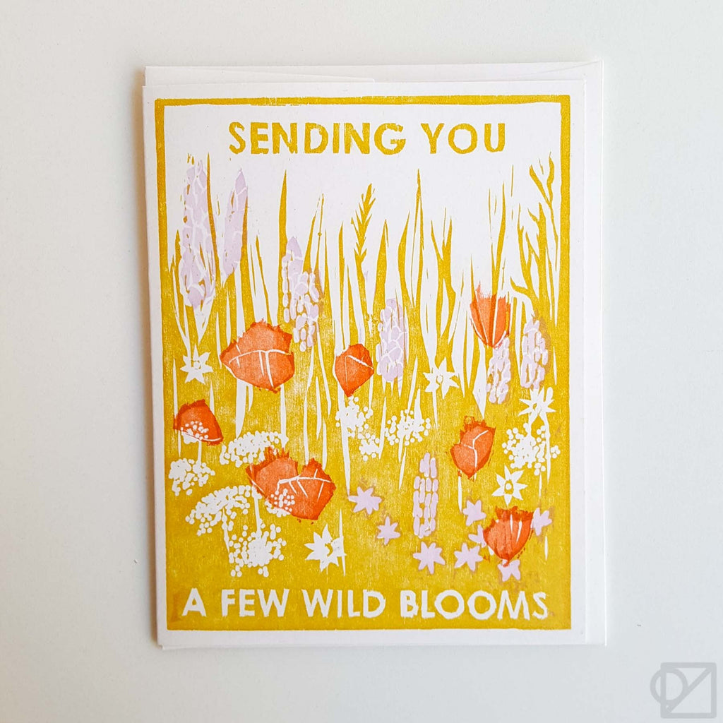 Sending You Blooms Greeting Card
