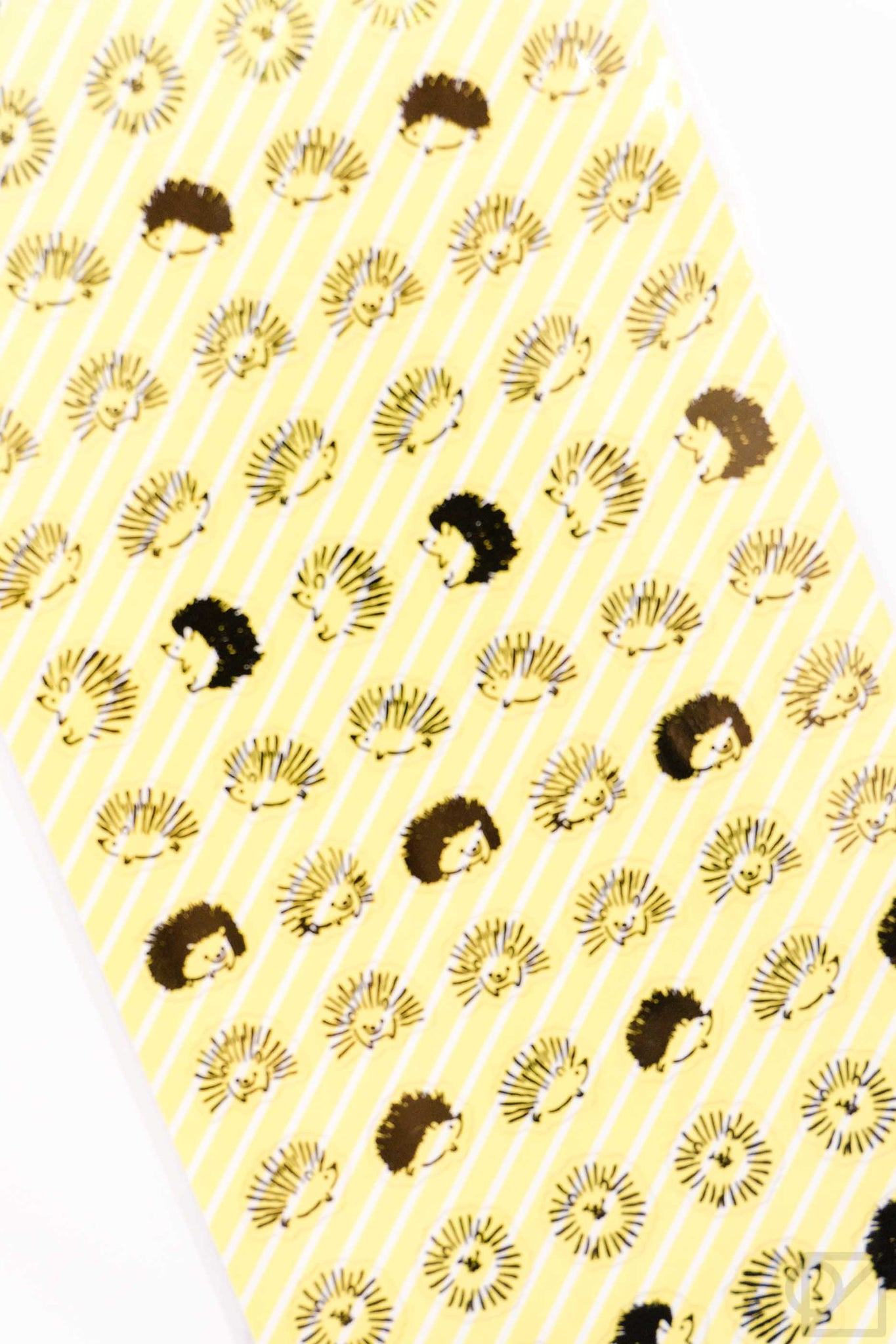 Hedgehog Clear Stickers