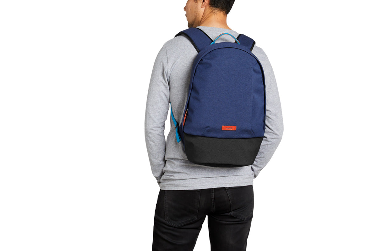 Bellroy Campus Backpack Blue Neon