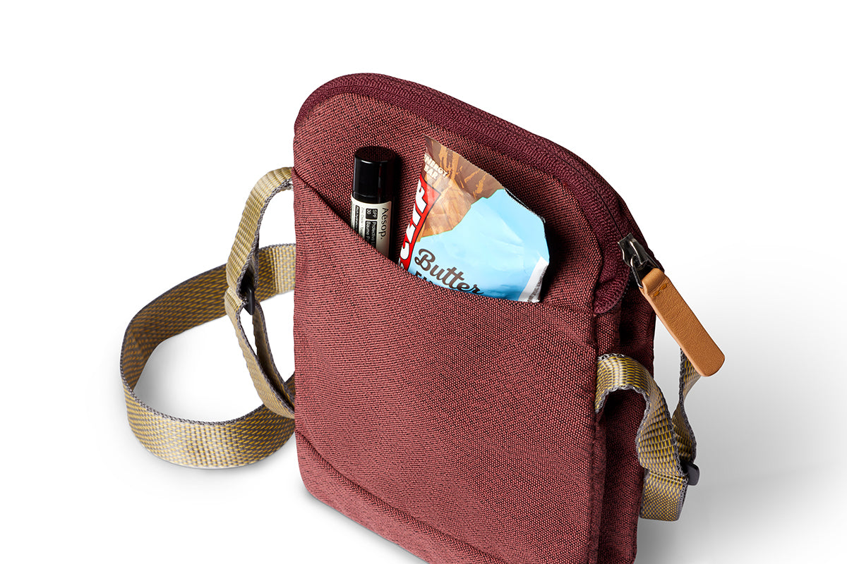 Bellroy City Pouch Red Earth