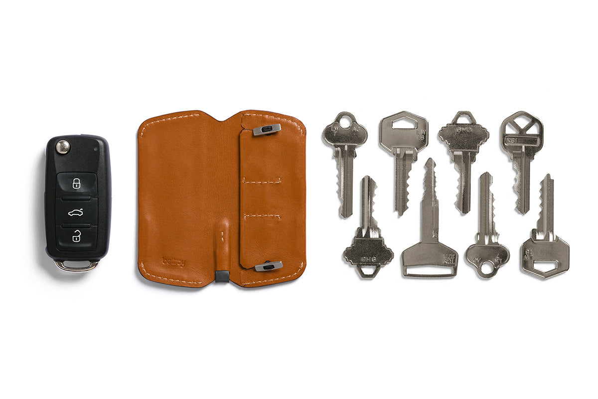 Bellroy Key Cover Plus Caramel