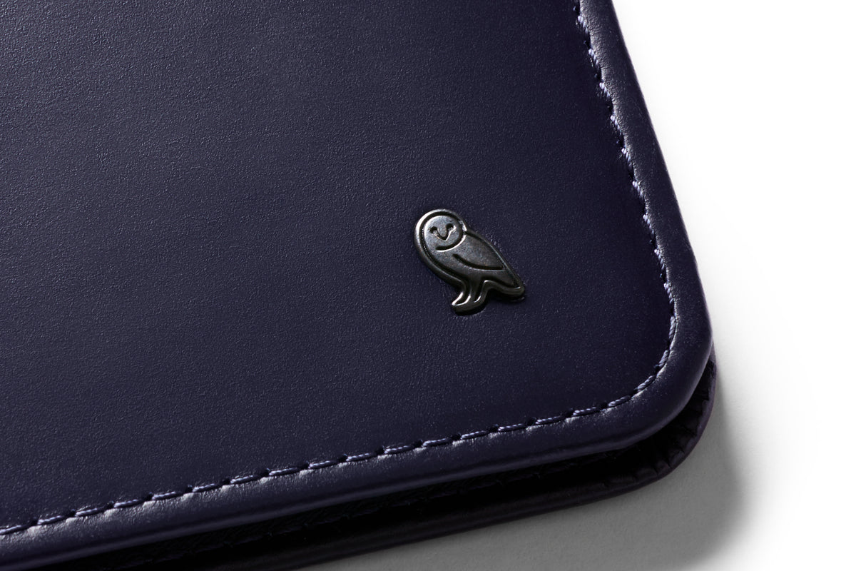 Bellroy RFID Blocking Hide & Seek HI Wallet Navy