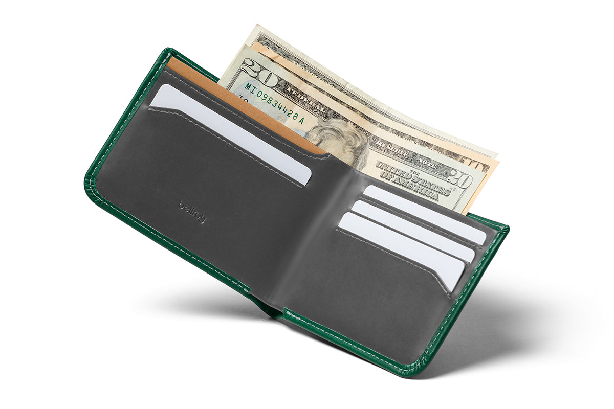 Bellroy RFID Blocking Hide & Seek Wallet Racing Green