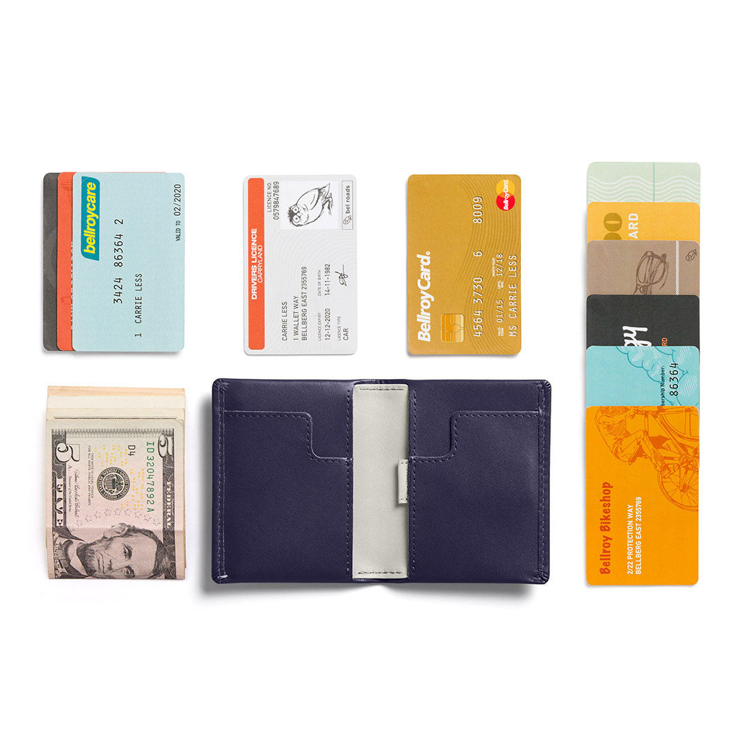 Bellroy Slim Sleeve Wallet Navy
