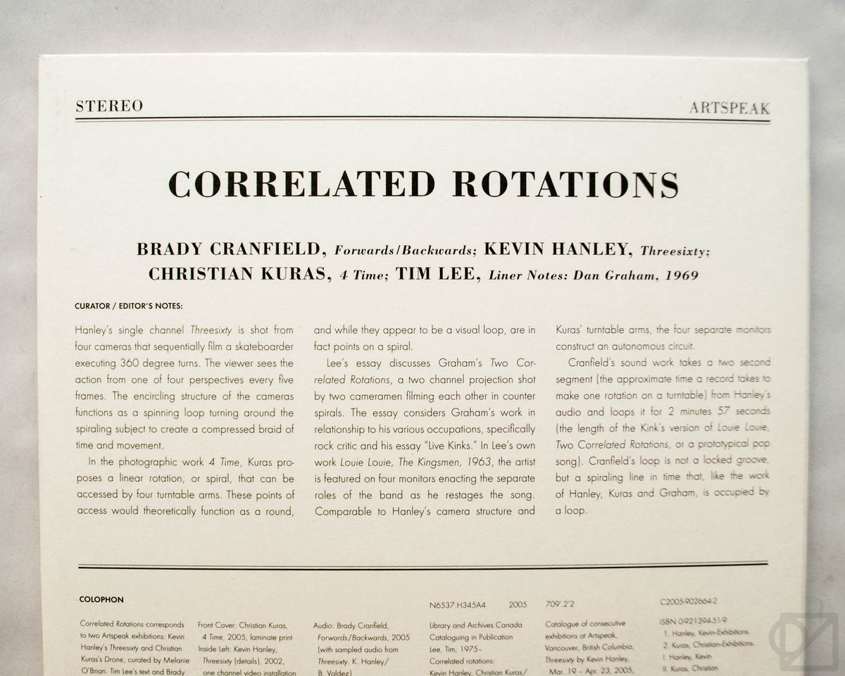 Correlated Rotations