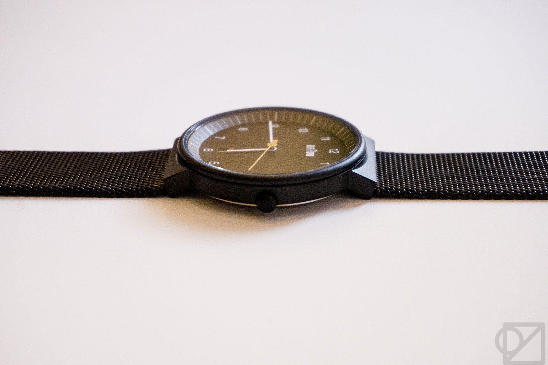 BRAUN 1S13 Mesh Band Wristwatch