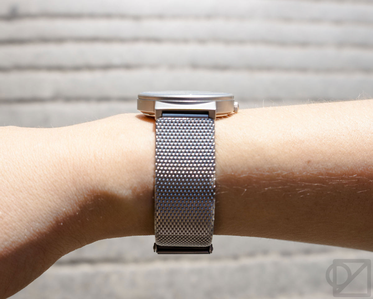 BRAUN Super 2035 Petite Mesh Band Wristwatch