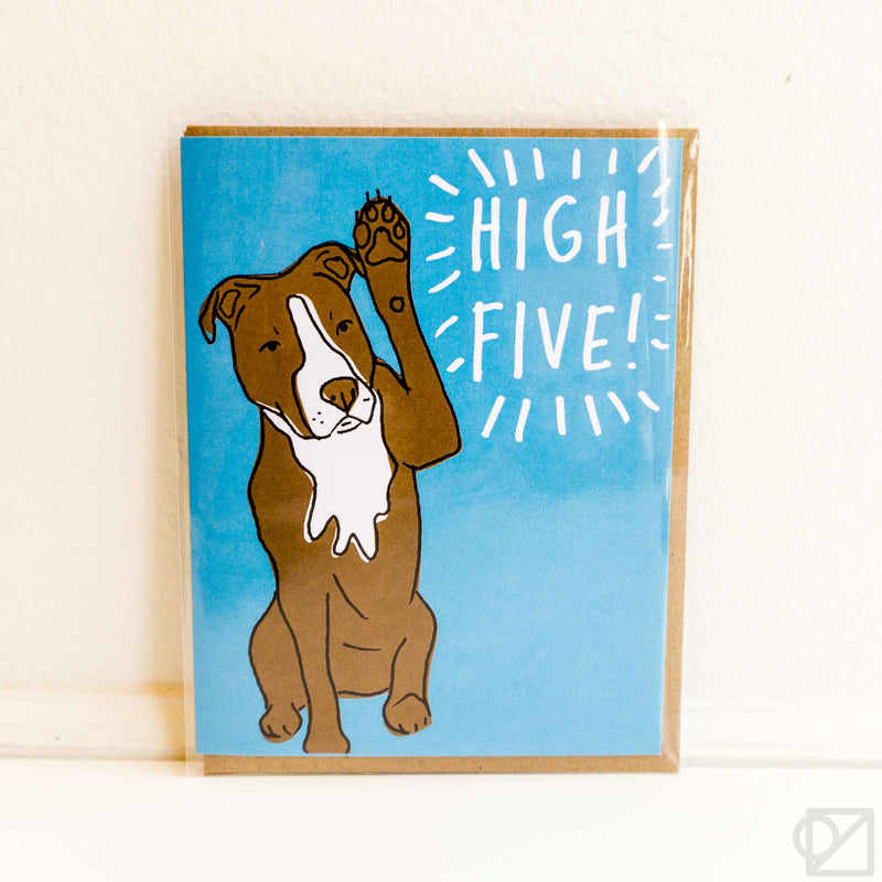 High Five Congrats Greeting Card