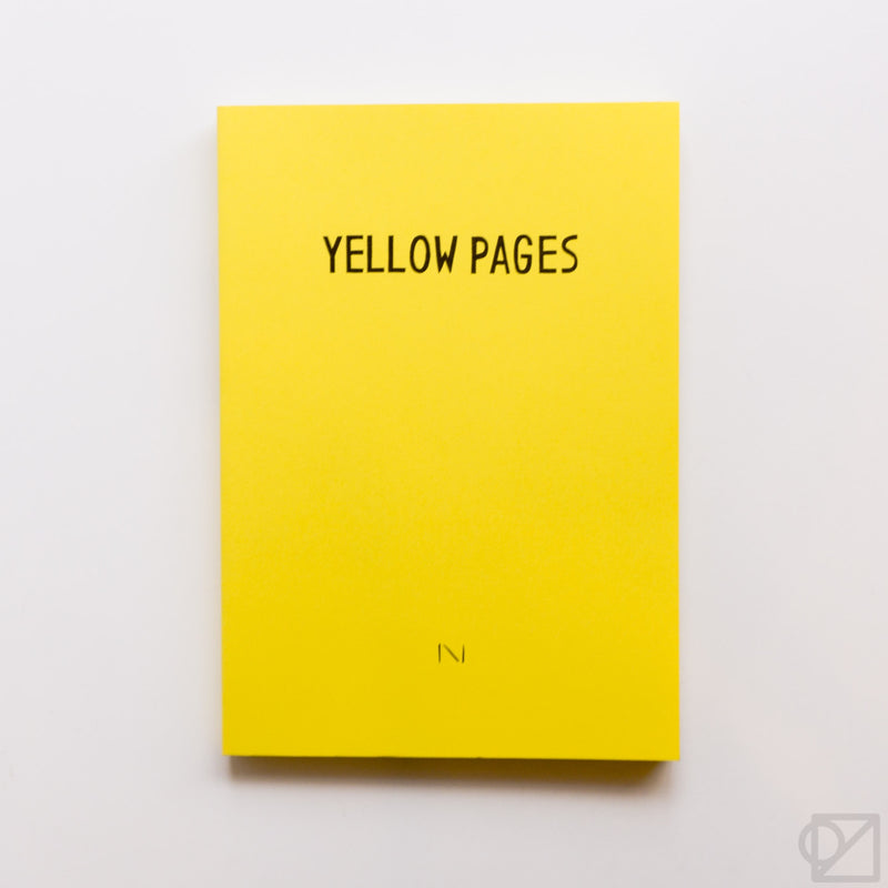 noritake Yellow Pages Notebook