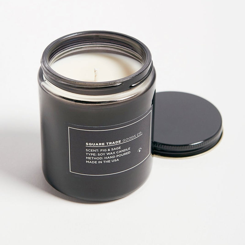 Square Trade Goods Co. Fig & Sage Candle