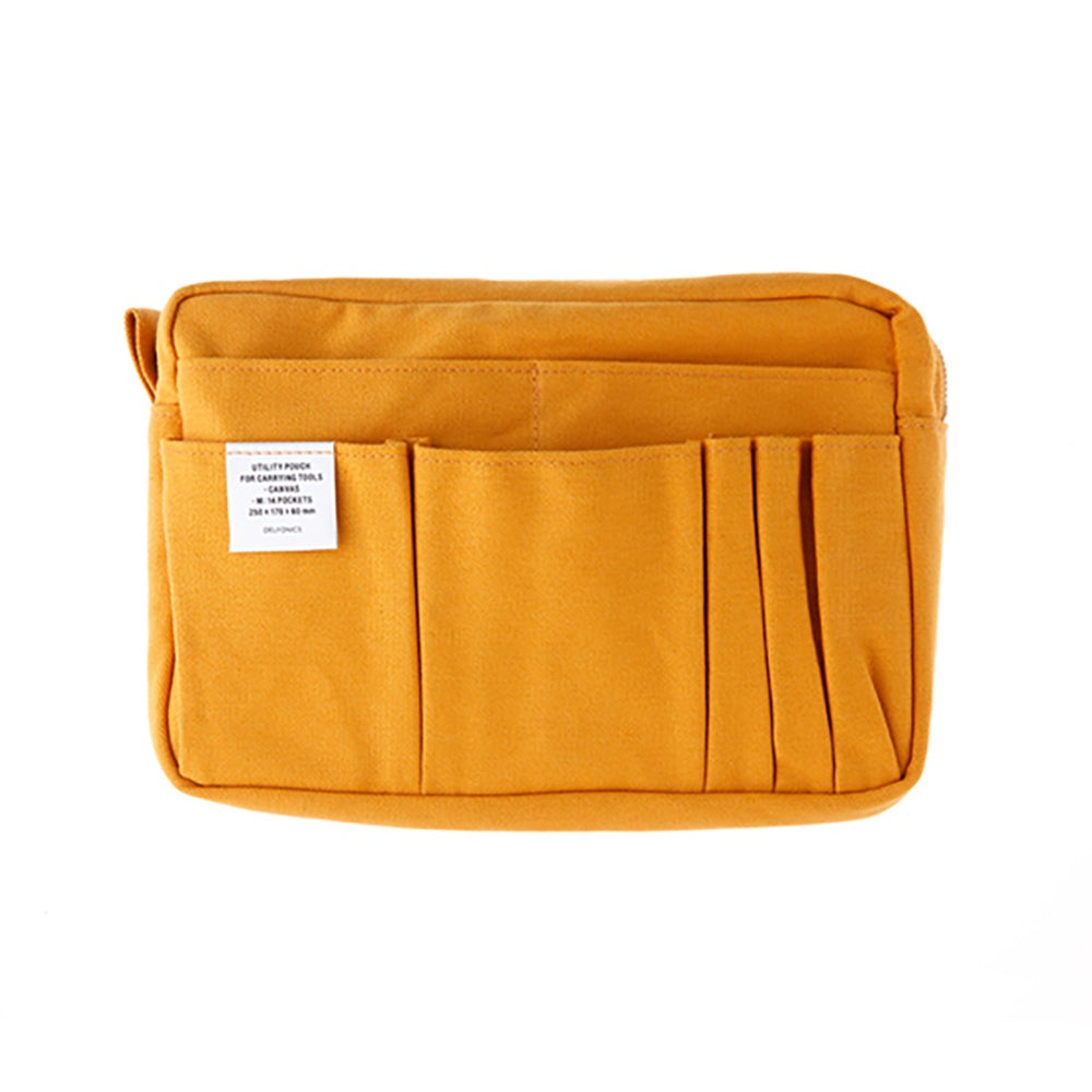 DELFONICS Utility Carrying Case M Yellow