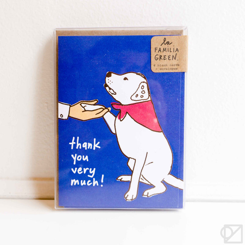Good Dog Thank You Card Box Set