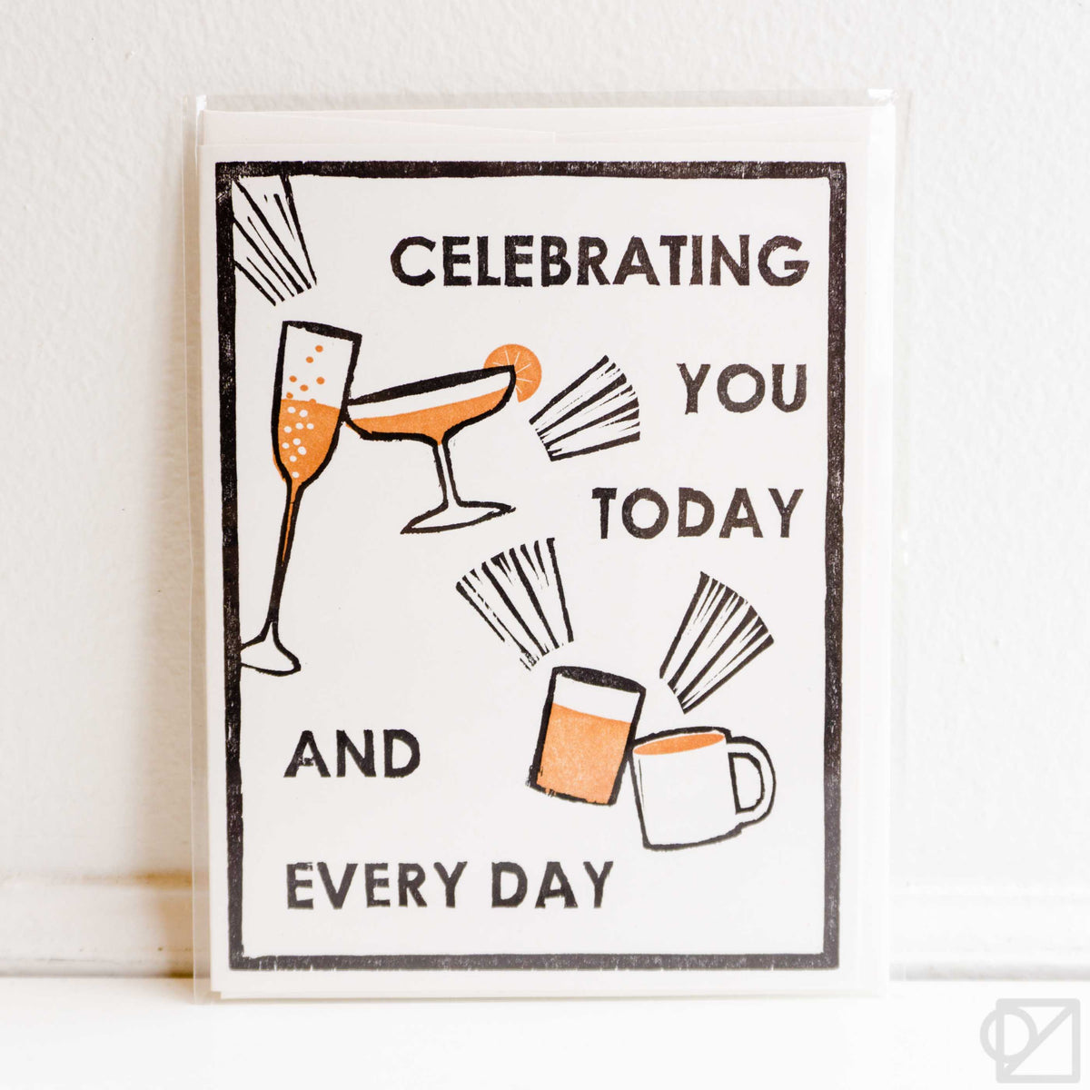 Today And Everyday Letterpress Card