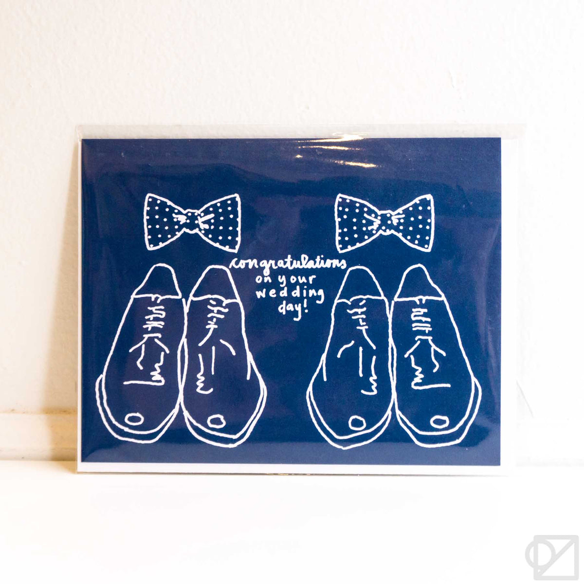 Bowties Wedding Card
