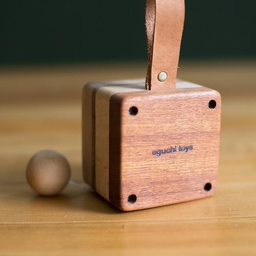 Wooden Music Box Baby Toy