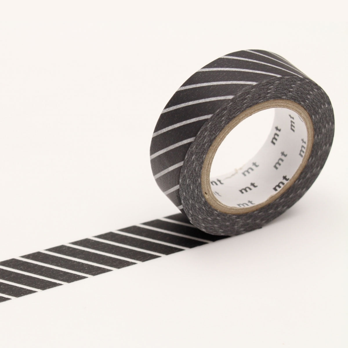 mt Washi Tape Single Black Stripe
