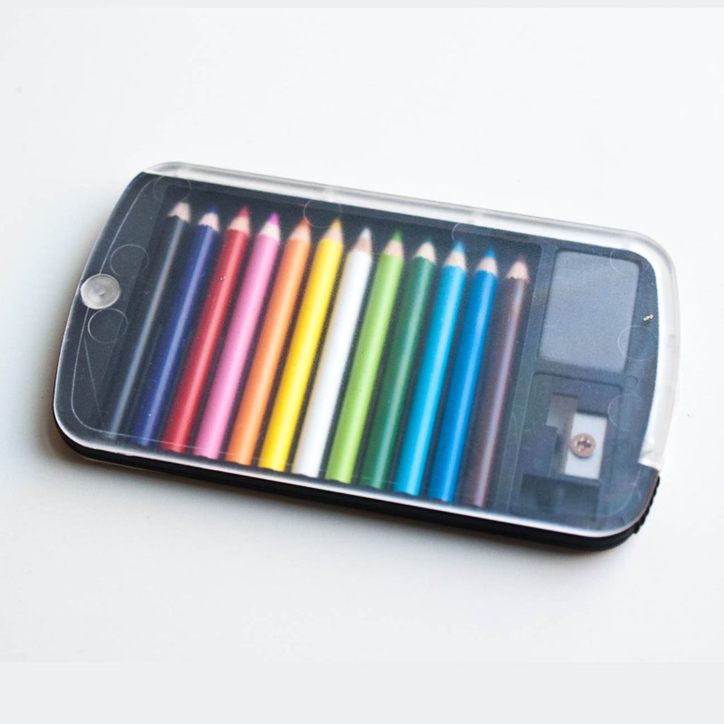 Mini Colored Pencil Set Flat Pack