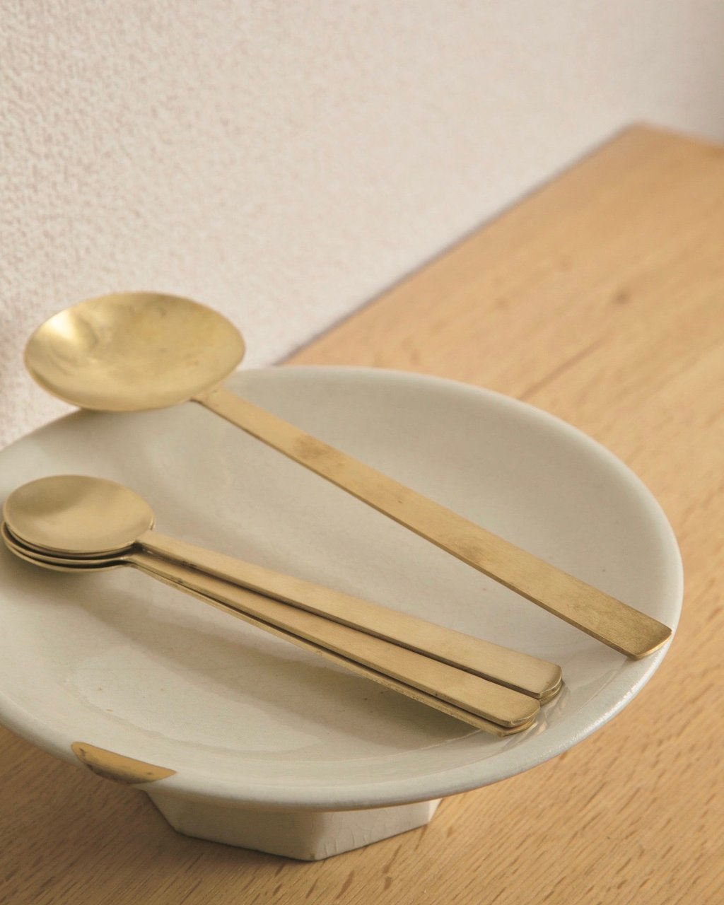 Fog Linen Work Brass Spoon Small