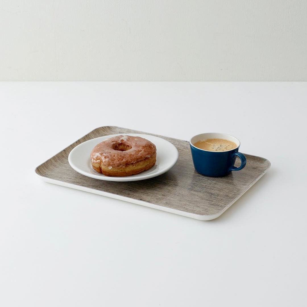 Fog Linen Work Coated Trays Natural