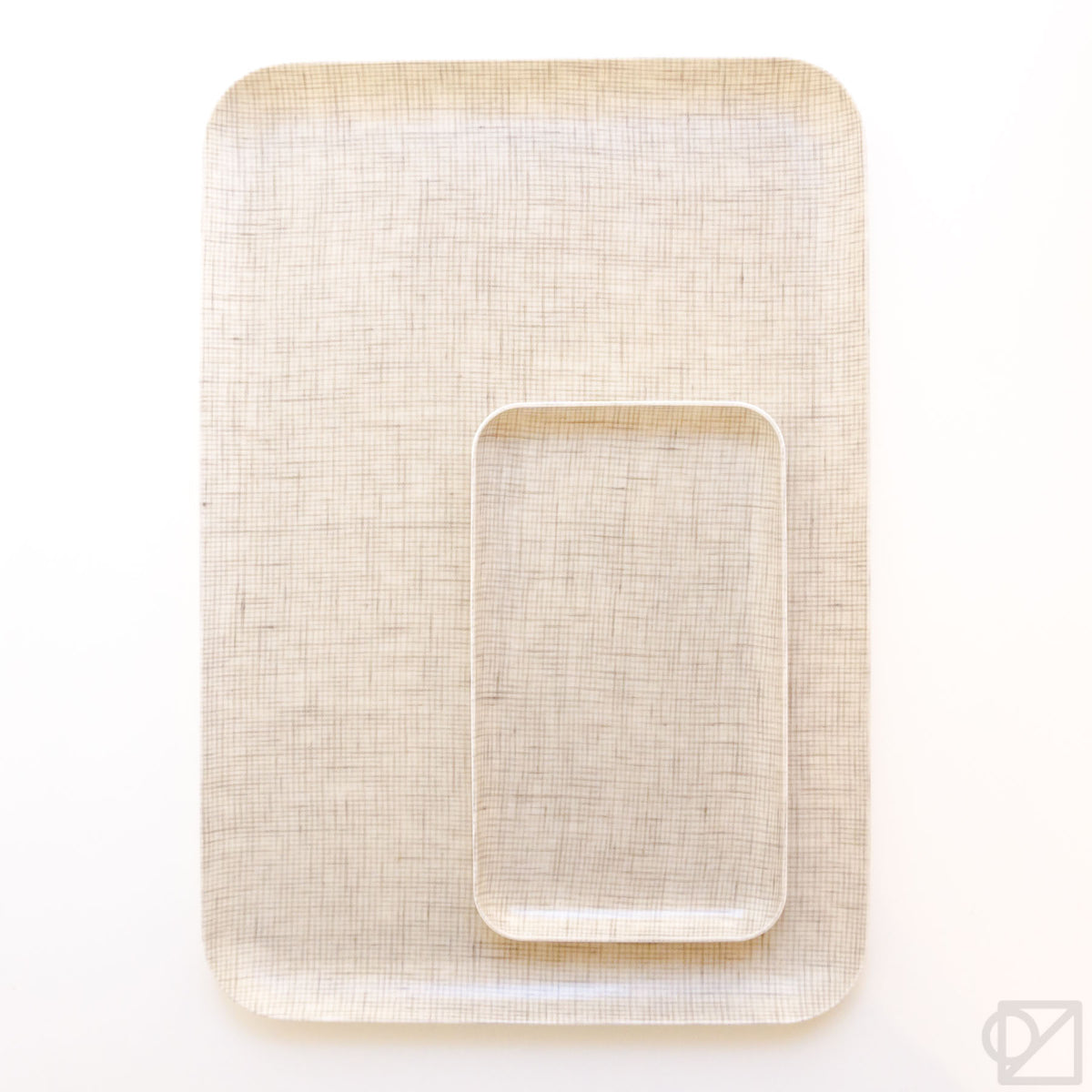 Fog Linen Work Coated Trays Colin