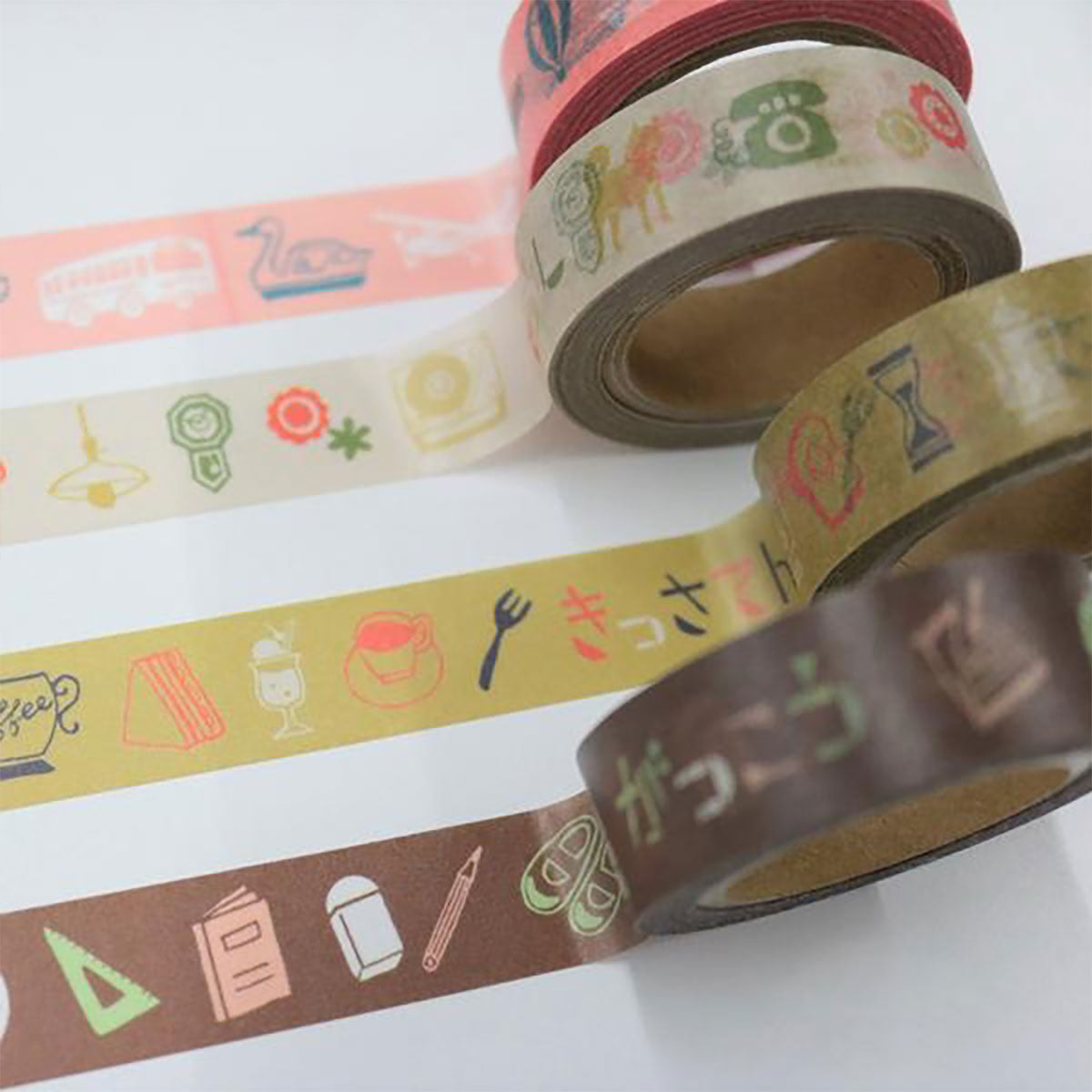 Chobit Wit Washi Tape Outing