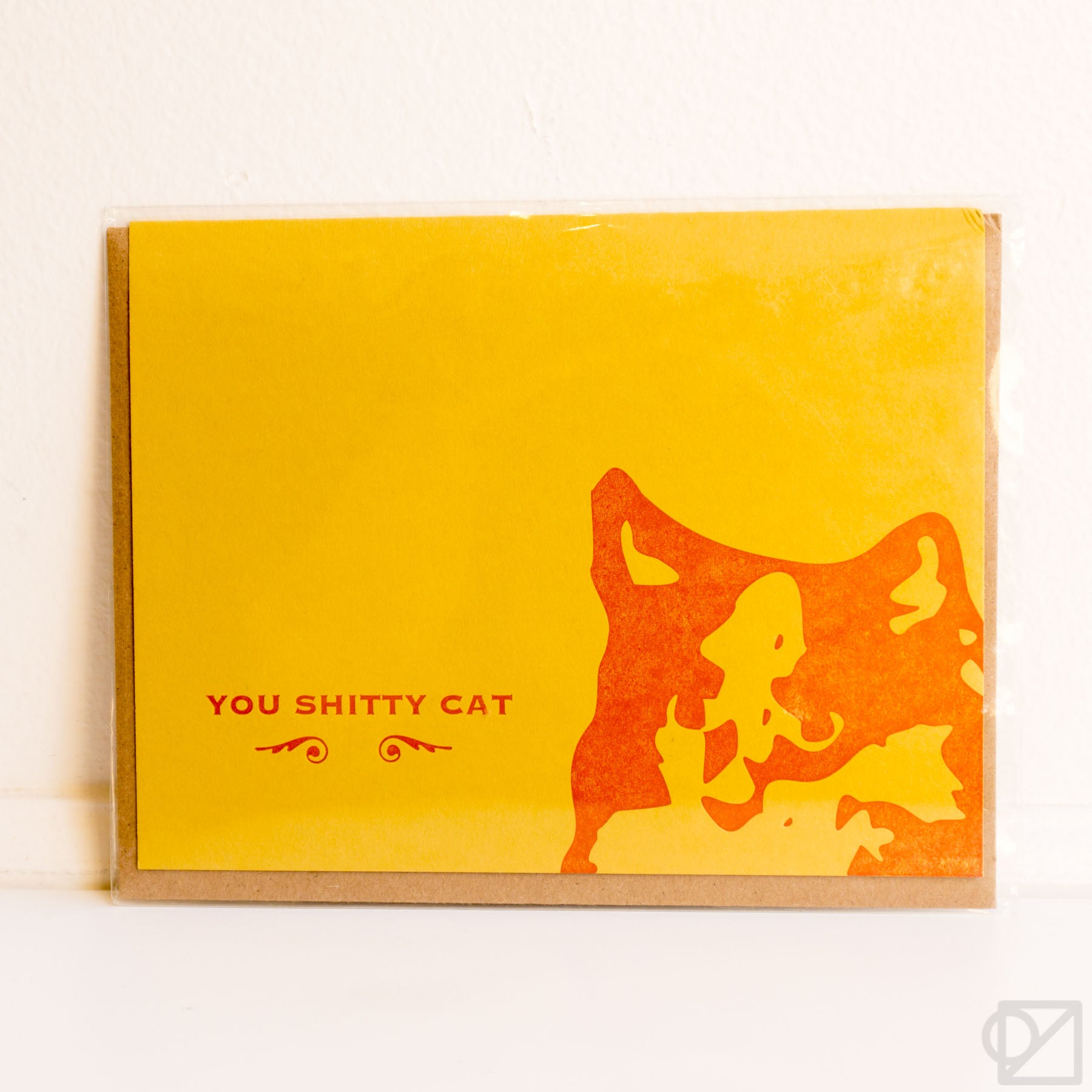 You Shitty Cat Card
