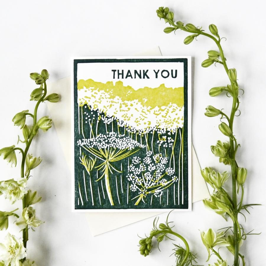 Thank You Queen Anne's Lace Card Box Set