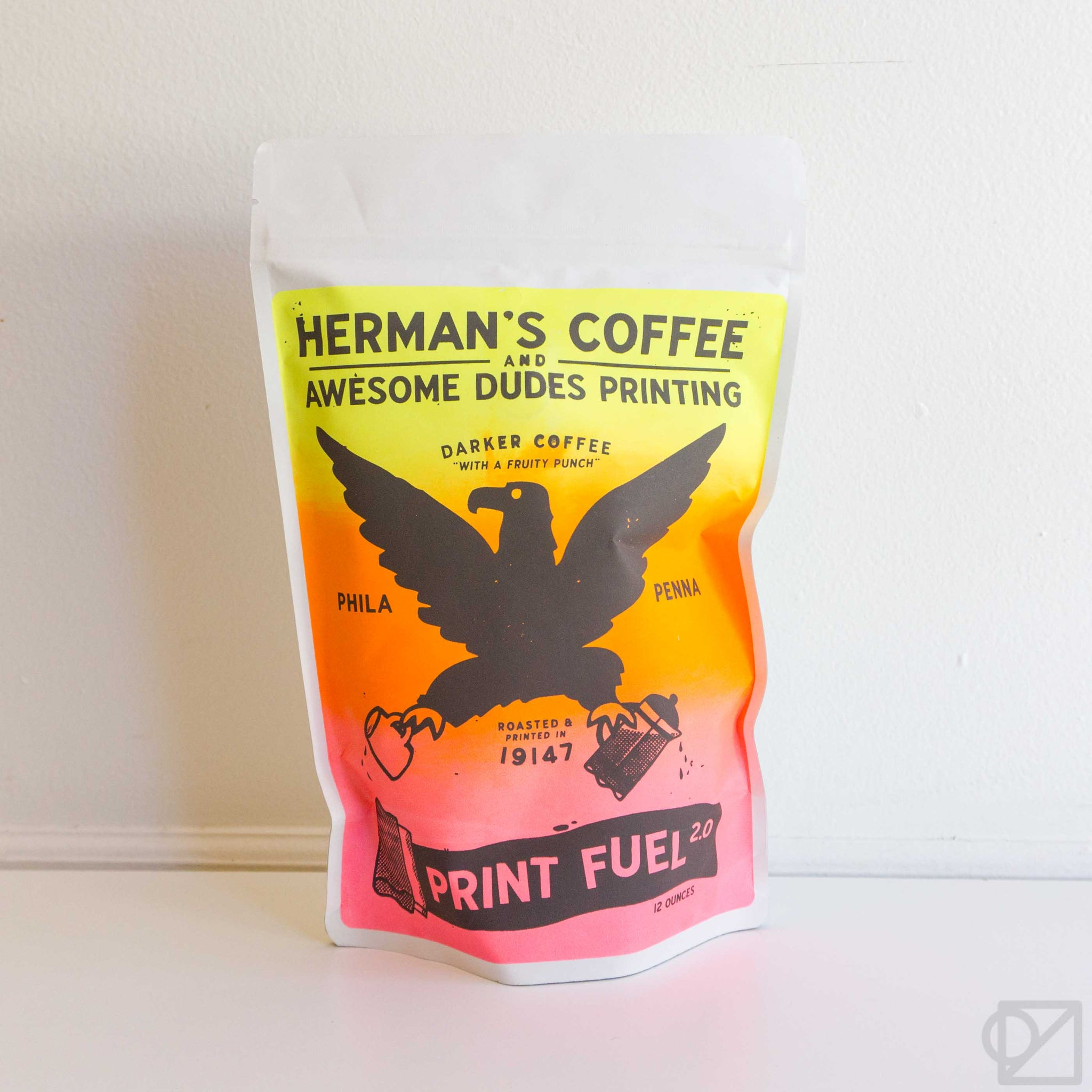 Herman's Awesome Dudes Blend  12oz Bag of Coffee Beans