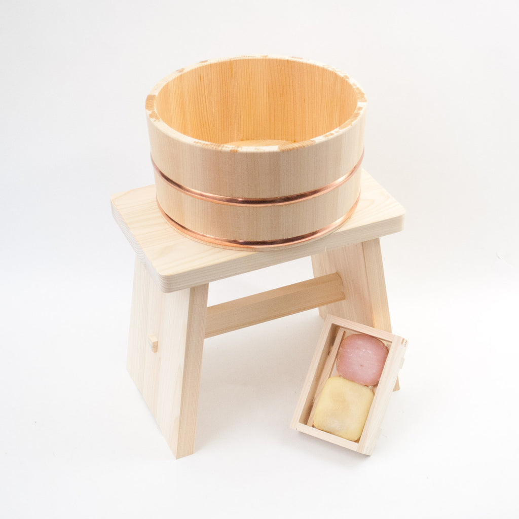 Umezawa Cypress Bath Bucket