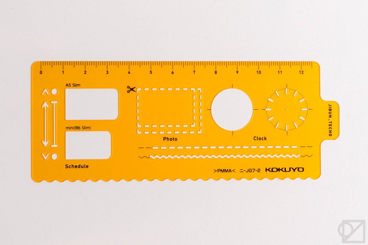 Jibun Techo Template Bookmarks