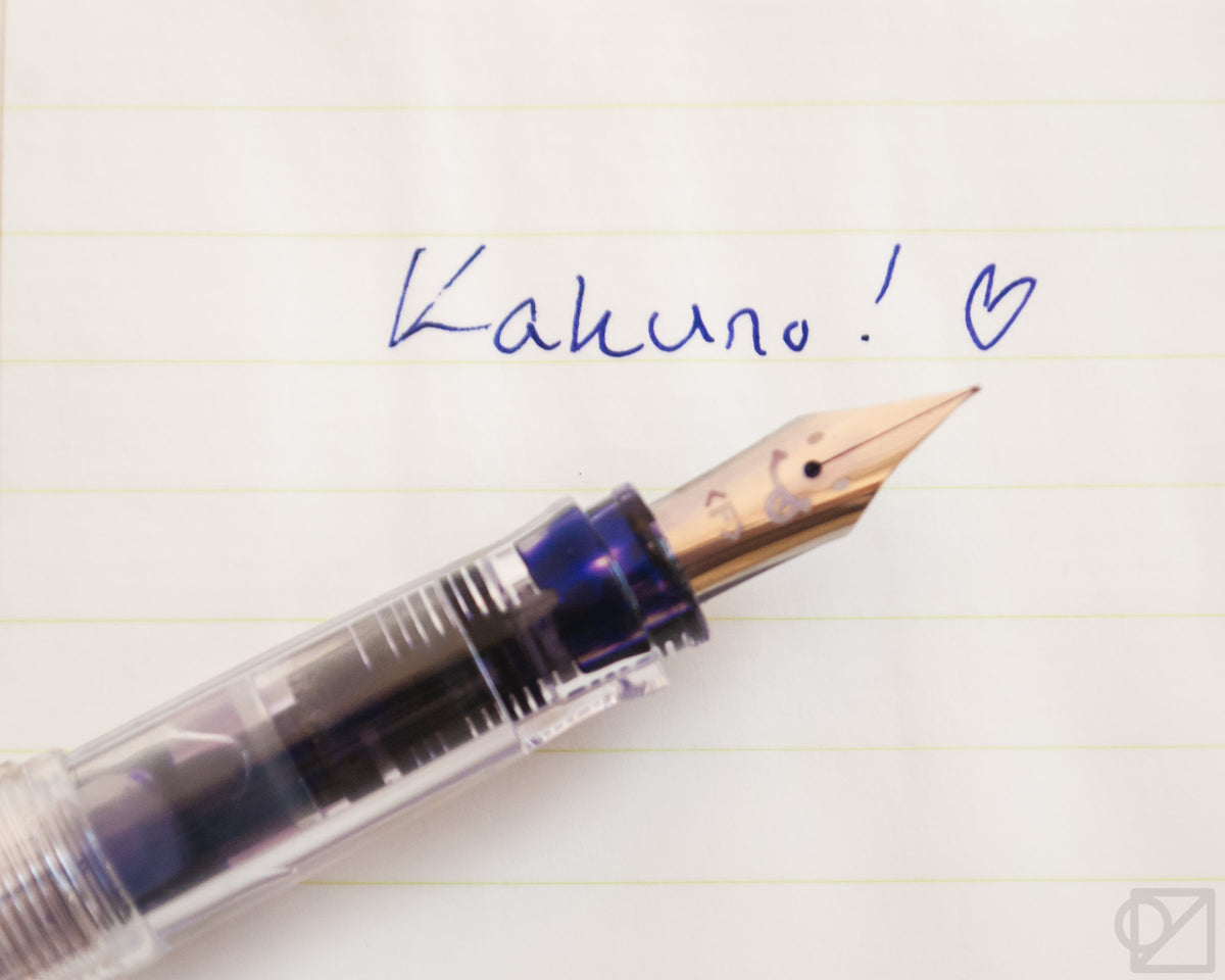 Kakuno Clear Series Fountain Pen