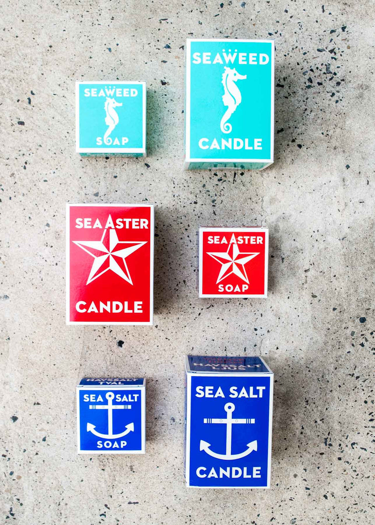 Swedish Dream Sea Candles makes great gifts. at Omoi Zakka Shop Philadelphia