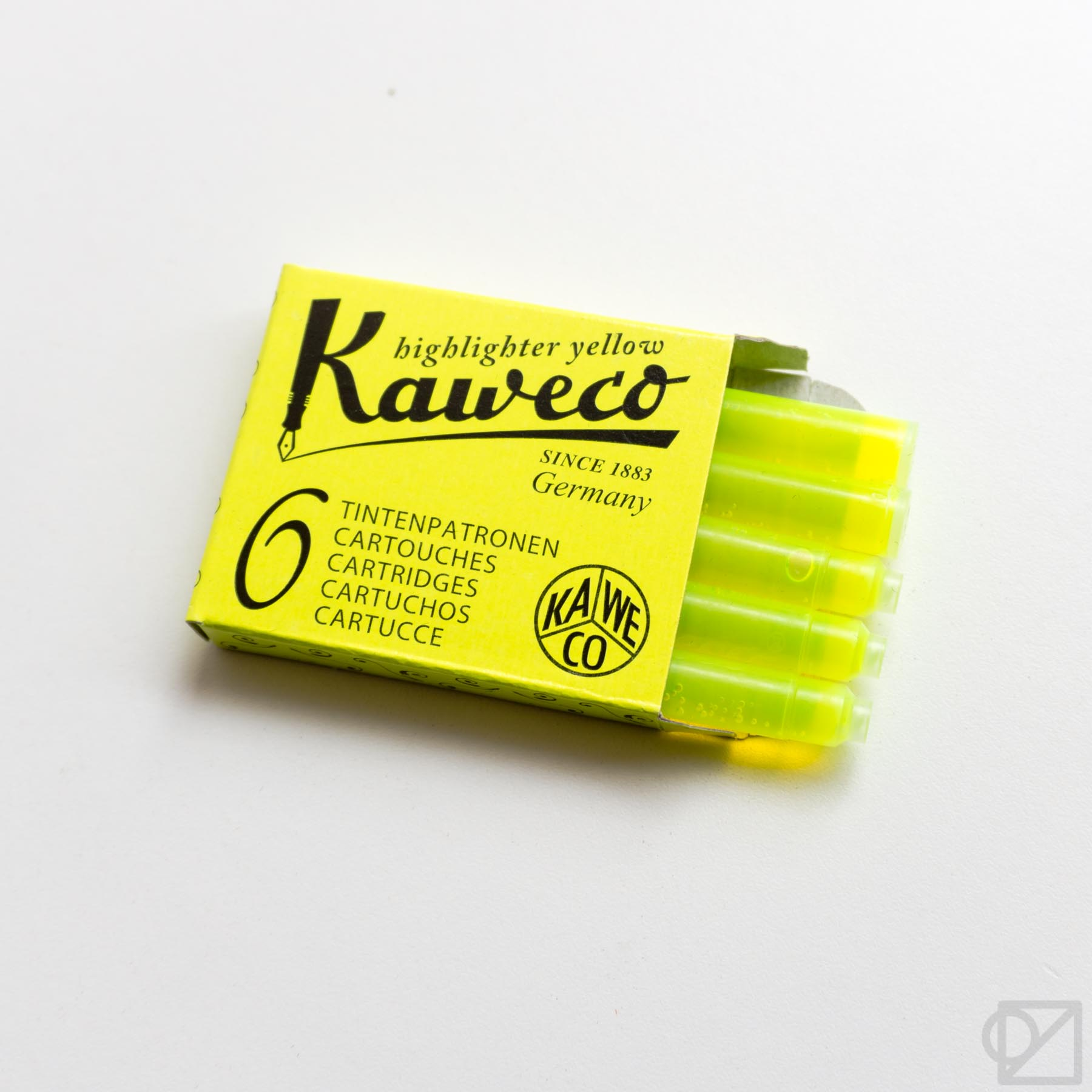 Kaweco Sport Yellow Highlighter Fountain Pen