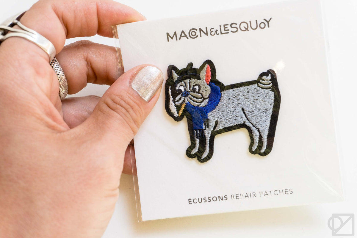 Macon & Lesquoy Hand Embroidered Patch