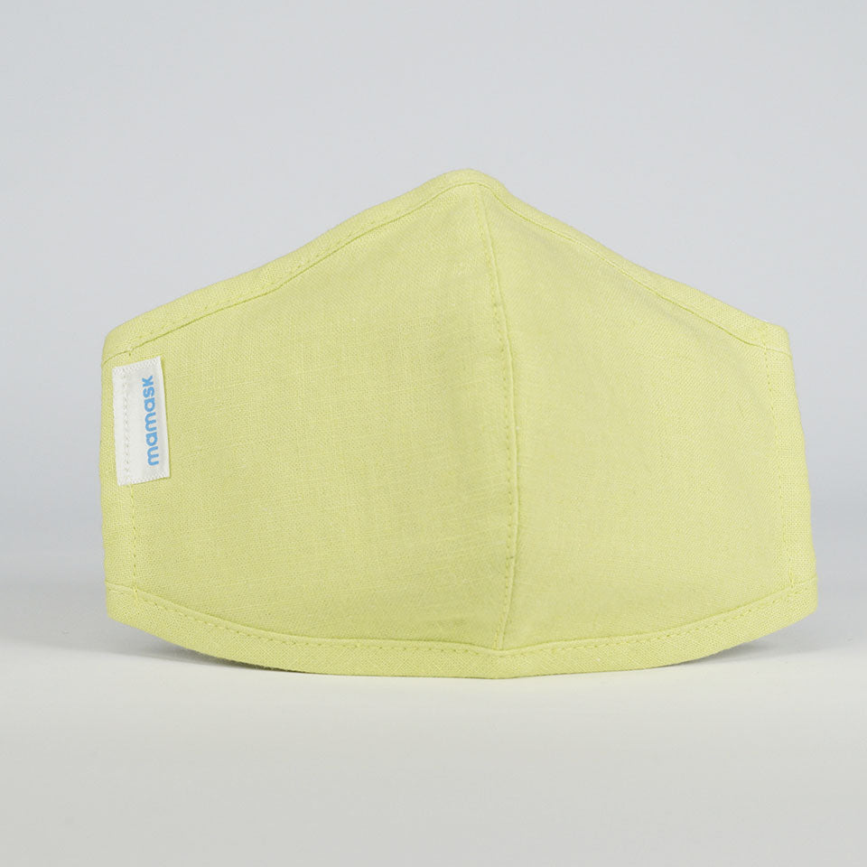 mamask Lightweight Face Mask in Neon Green