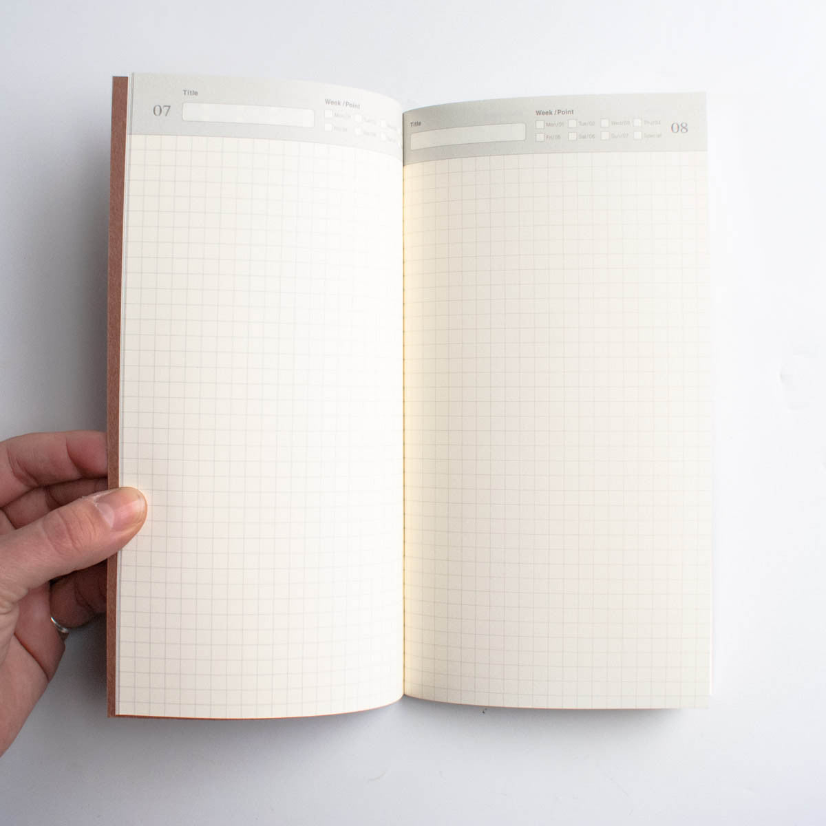 Midori Traveler's Notebook: 005 Travel Diary Refill