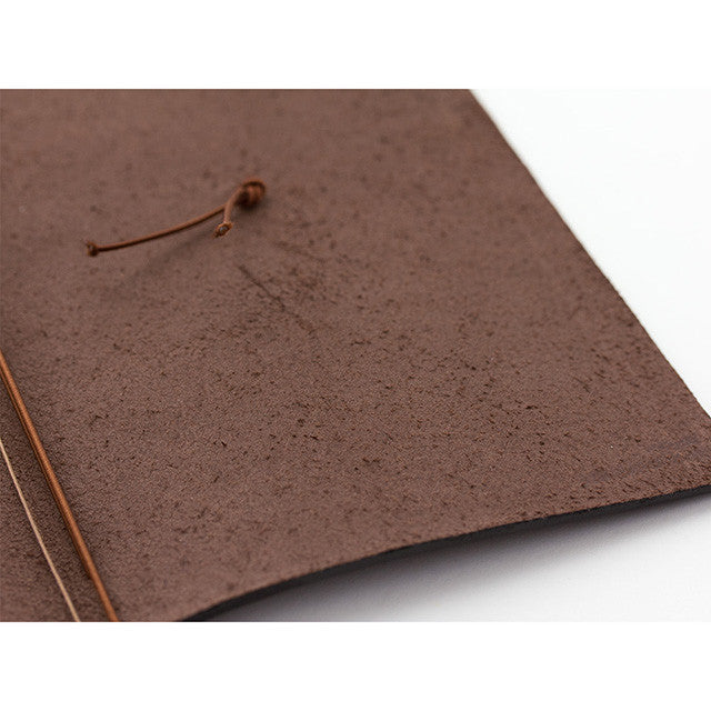TRAVELER'S Company Leather Journal Starter Kit Brown