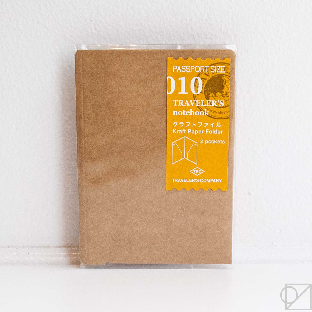 Midori Traveler's Note Passport: 010 Kraft File Folder