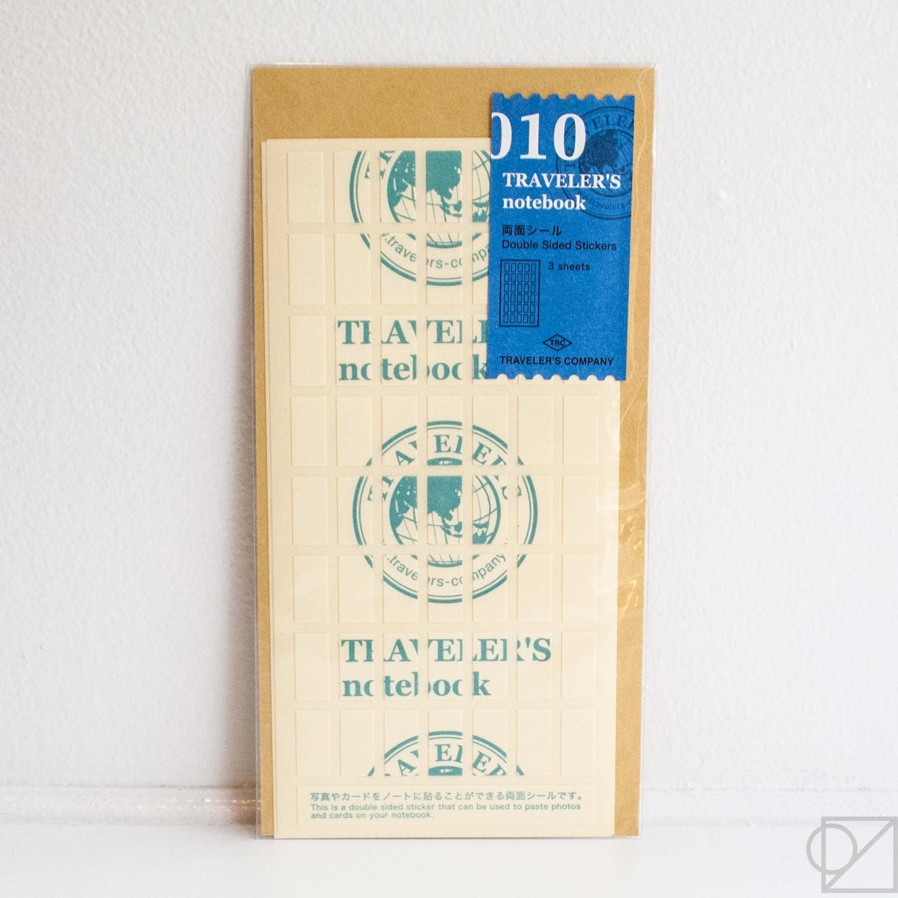 Midori Traveler's Note: 010 Double Sided Stickers
