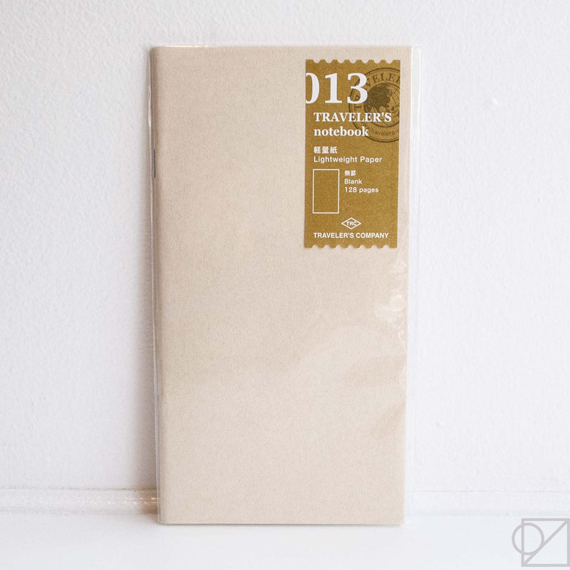Midori Traveler's Note: 013 Lightweight Paper Notebook Refill